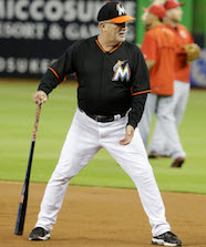 Perry Hill Coaching Miami Marlins Infield