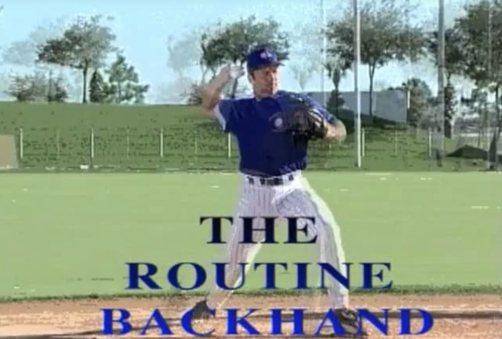 Ultimate Infield routine backhand featured image